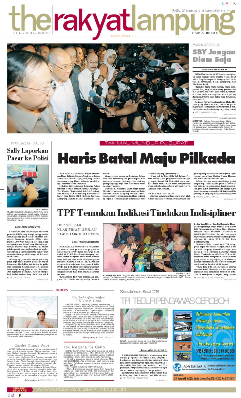 Rakyat Lampung Rabu 24 Maret 2010 By Rudy Muhammad Issuu Produk Ukm Paul Aksesories Id Card Leather Kartu Pengenal Kulit Warna Tan