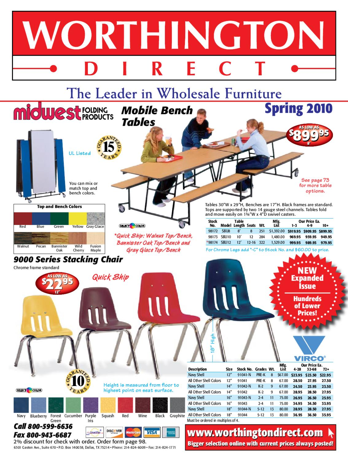 Worthington Direct School Furniture Catalog Spring 2010 By Use Toggle Switch 20amp Back And Side Wired Singlepole 81200 W Issuu