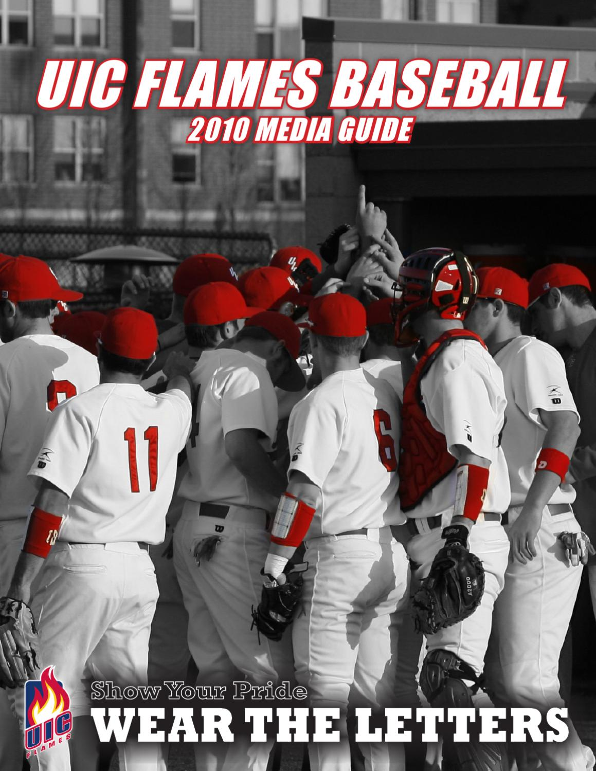 2010 uic baseball media guide by university of illinois at chicago