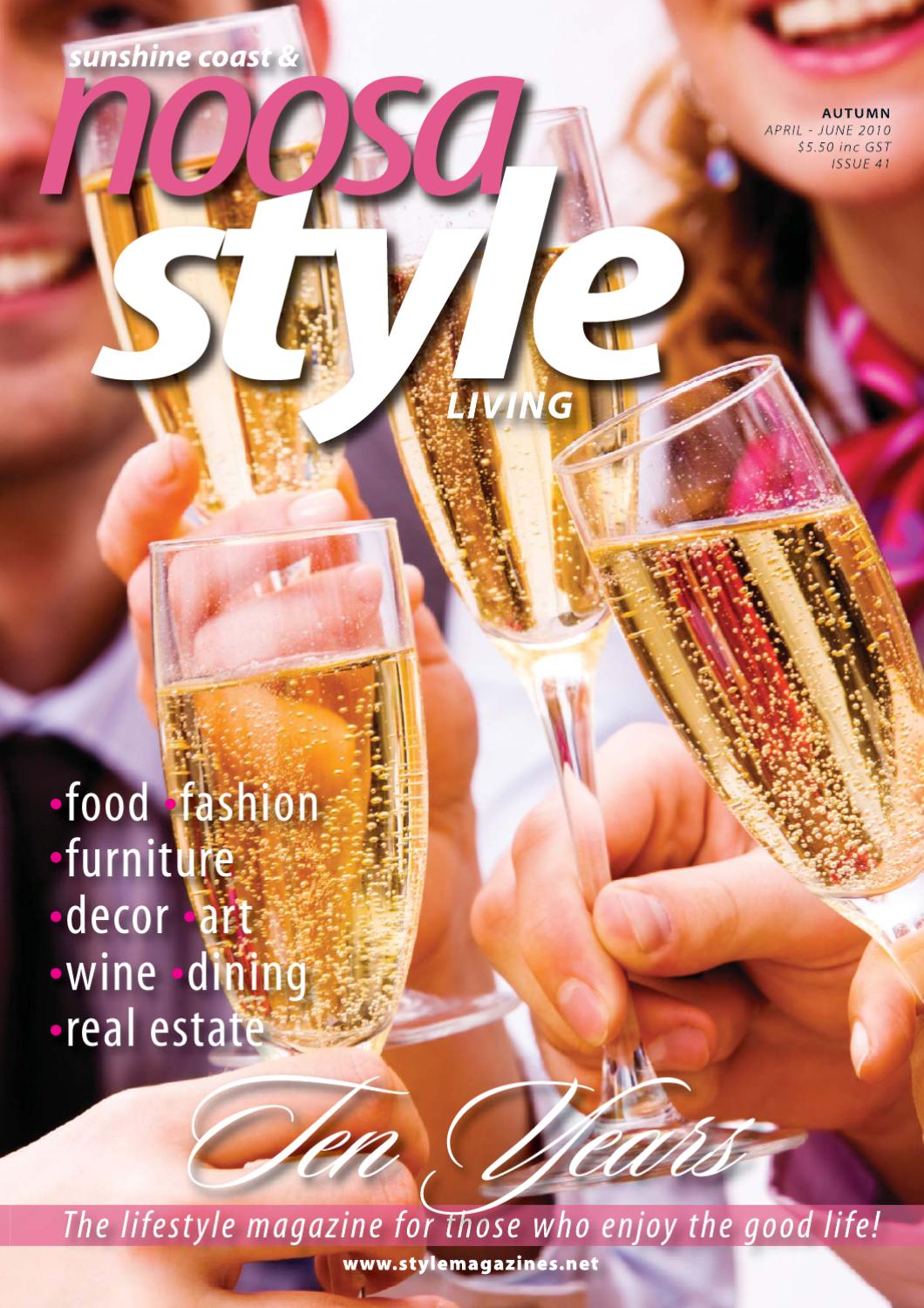 Noosa STYLE March 2010 by STYLE Living - issuu