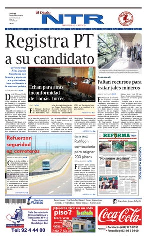 El Diario Ntr By Ntr Medios De Comunicacion Issuu
