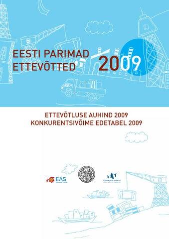 125cce43e65 Eesti Parimad Ettevõtted 2009 by Eesti Kaubandus-Tööstuskoda ...