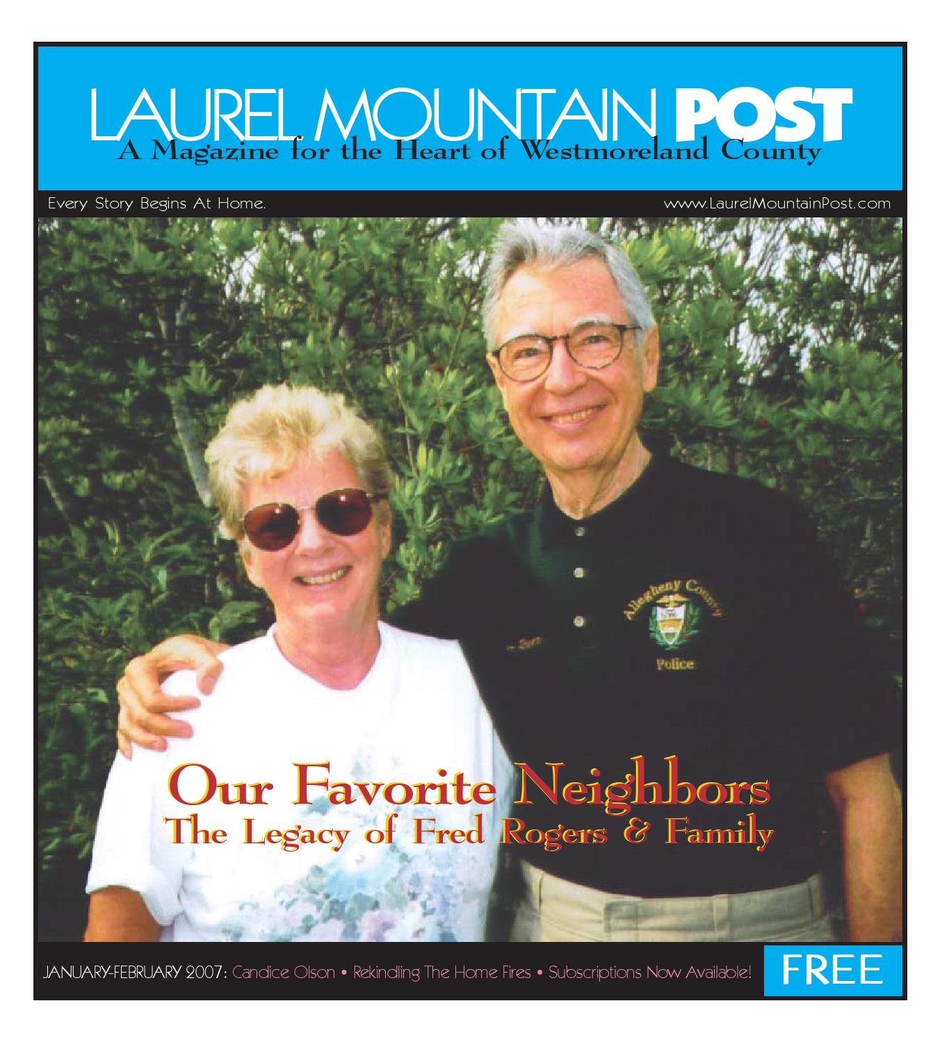 Laurel Mountain Post January February 2007 By Laurel Mountain Post Issuu