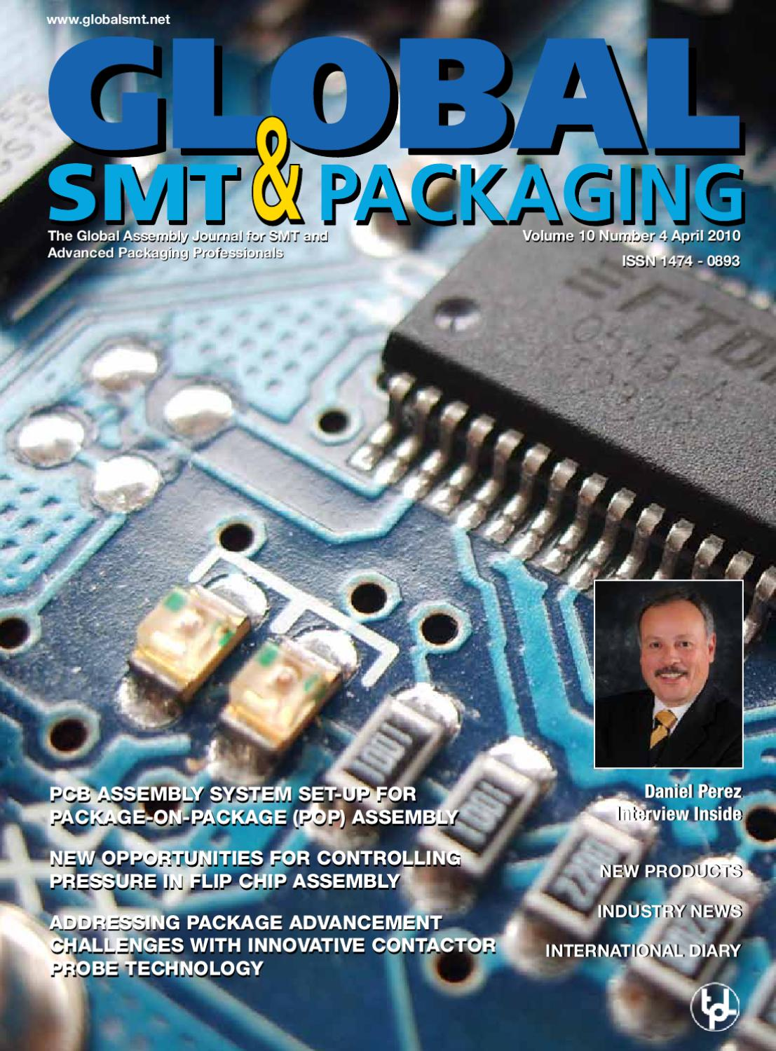 Global Smt Packaging April 2010 European Edition By Trafalgar Laminate Rigid Pcb High Tg Low Cte Circuit Board Maker From China Publications Issuu
