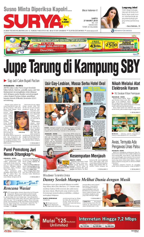 Harian Surya Edisi Cetak 27 Marewt 2010 by Harian SURYA - issuu 805258ff54
