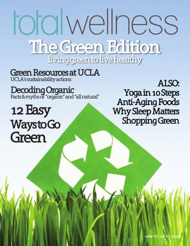 The Green Edition by Total Wellness Magazine - issuu