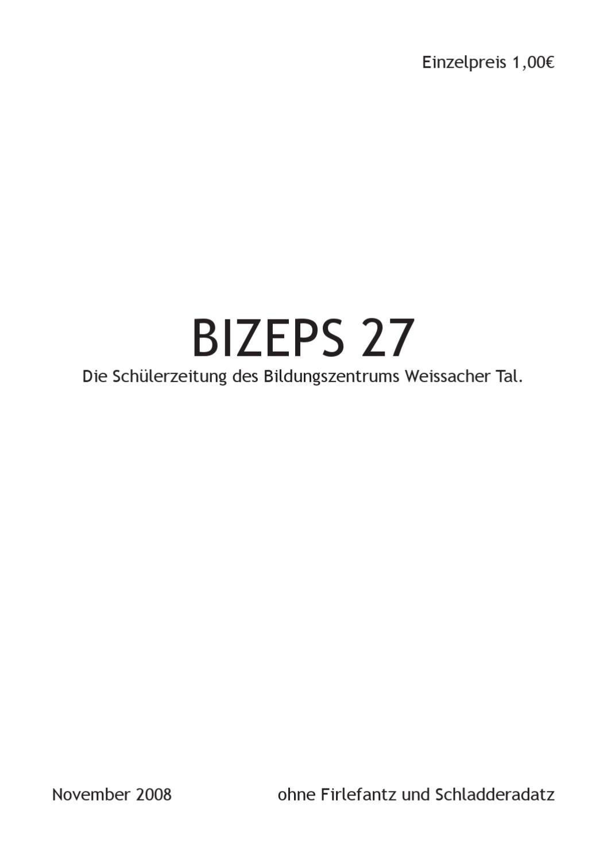 Bizeps 27 by der gorak - issuu