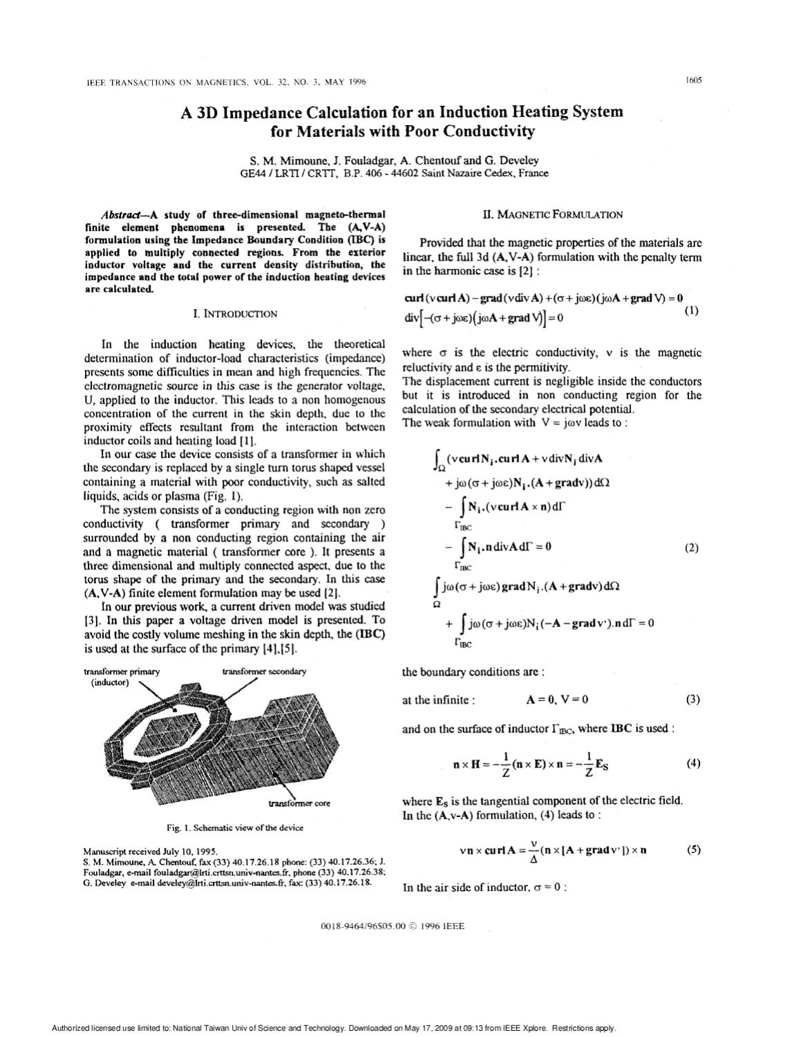 a 3D impedance calculation for an IH system by Ryan Lian - issuu