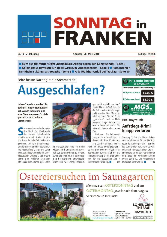 Sonntag in Franken vom 29.03.2010 by Nordbayerischer Kurier GmbH ...