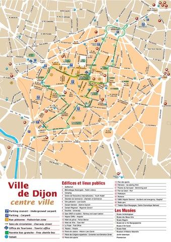 Plan Dijon By Frans Bureau Voor Toerisme Issuu