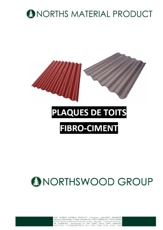 Toiture fibro ciment by northsmp material issuu - Plaque fibro ciment ...