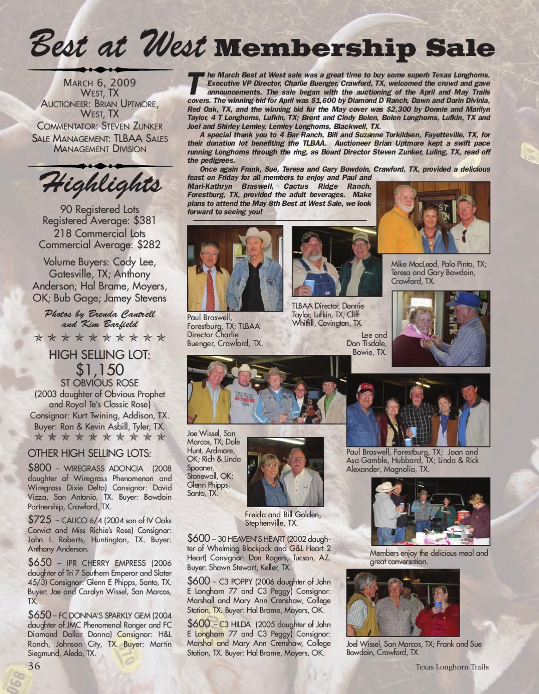 Texas Longhorn Trails by Texas Longhorn Trails Magazine - issuu