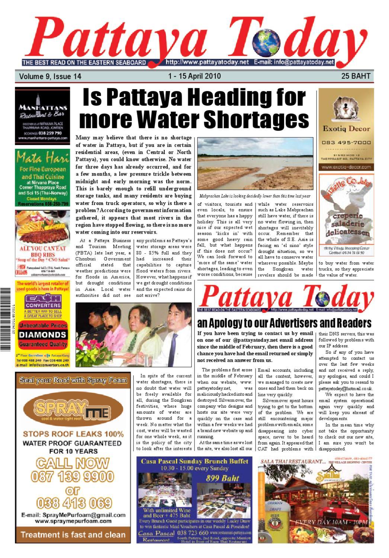 Pattaya Today Volume 9 Issue 14 by Pattaya Today - issuu