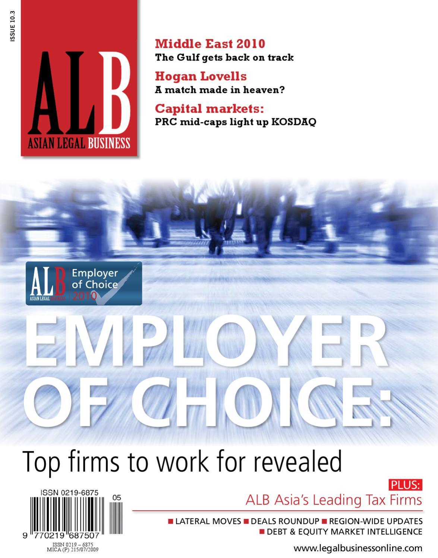 Asian Legal Business (SE Asia) Mar 2010 by Key Media - issuu