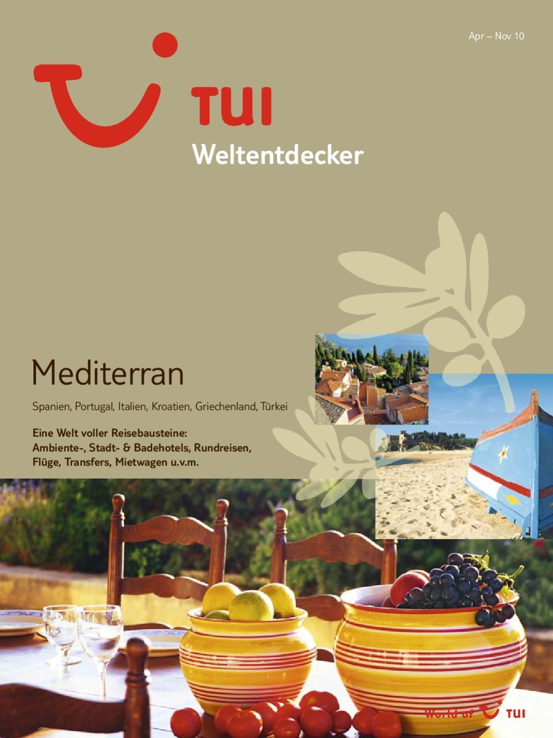 Tui Wemediterran So10 By Wulf Seidel Issuu