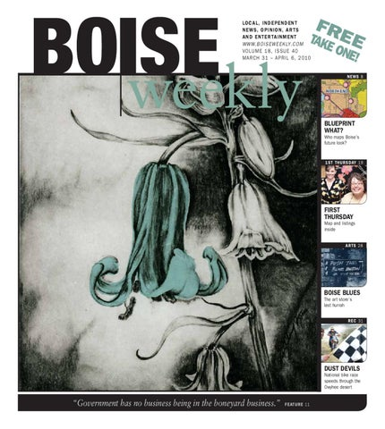 Boise Weekly Vol 18 Issue 40 By