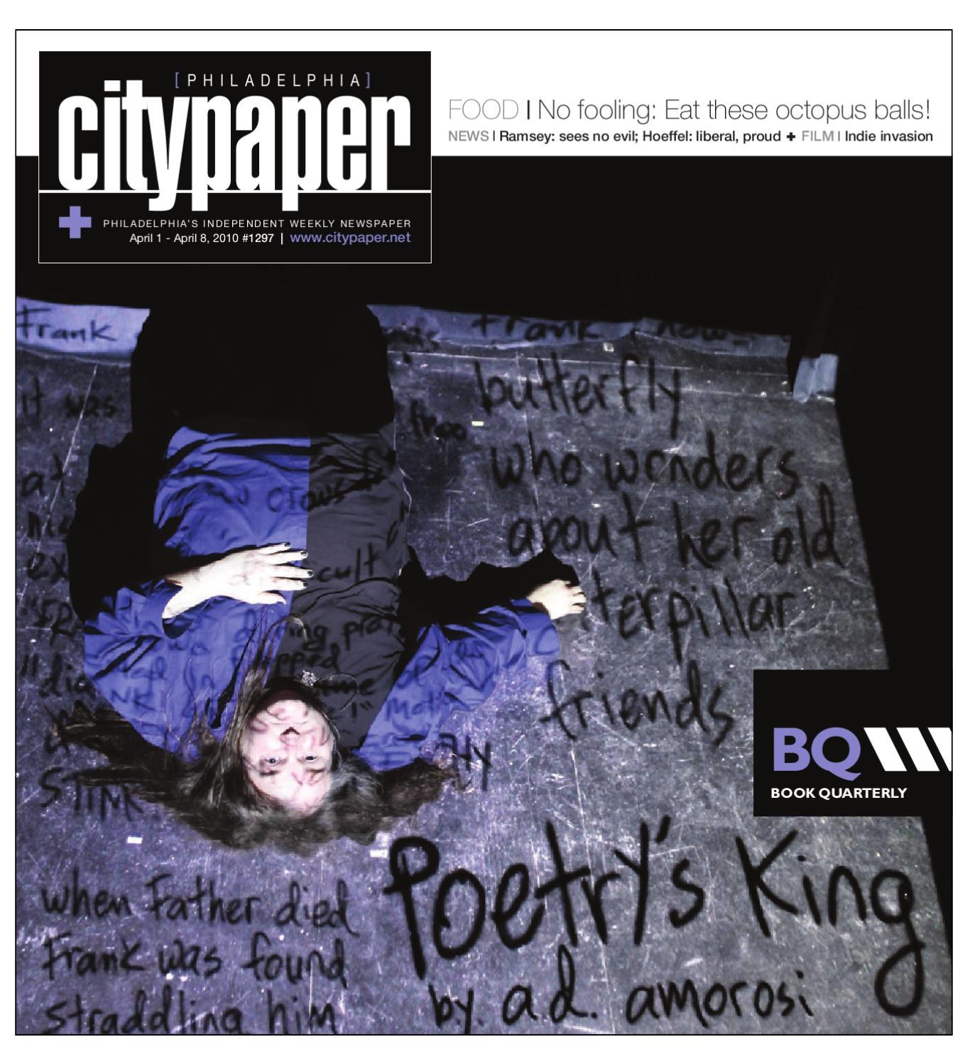 Philadelphia City Paper, April 1st, 2010 by Philadelphia