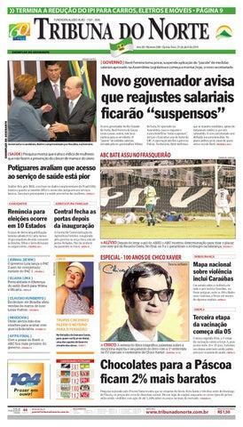 Tribuna do Norte - 01 04 2010 by Empresa Jornalística Tribuna do ... e847dfd19f