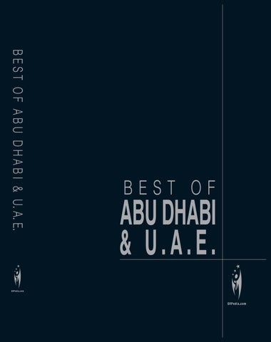 BEST OF ABU DHABI & UAE - Volume 1 by Sven Boermeester - issuu