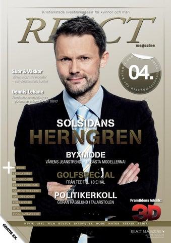 e26859583b91 React Magazine nr 4, 2010 Kristianstad by Valinor Media AB - issuu