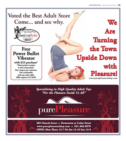 Apologise, but, pure pleasure adult store