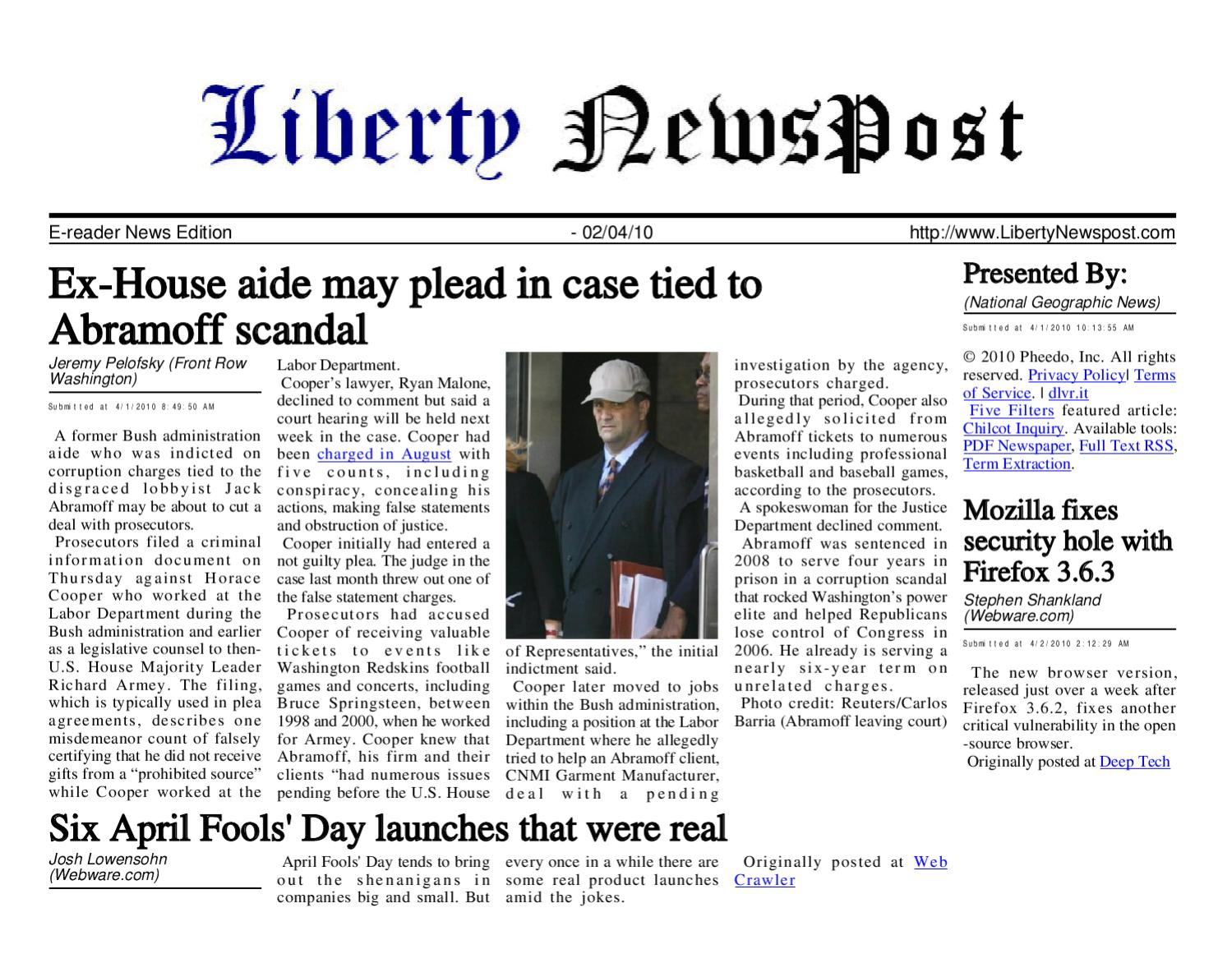 d9cb81455e7 Liberty Newspost Apr-02-10 by Liberty Newspost - issuu