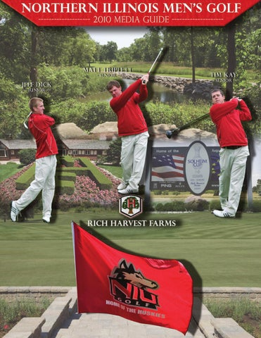 8f52b8f0543 2010 Northern Illinois Men s Golf Media Guide by Russell Houghtaling ...