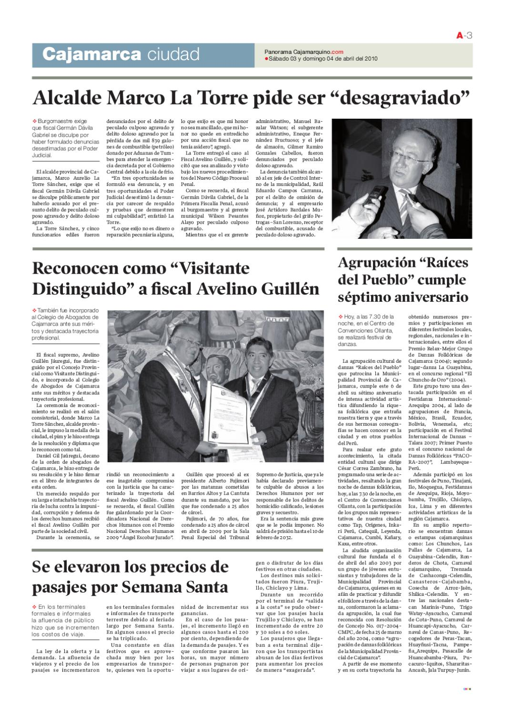 diario_03_04_2010 by Panorama Cajamarquino - issuu
