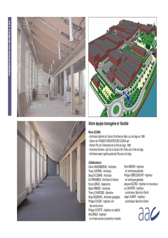 Architecture D Intérieur Saint Luc plaquette cocinasnyers dominique - issuu