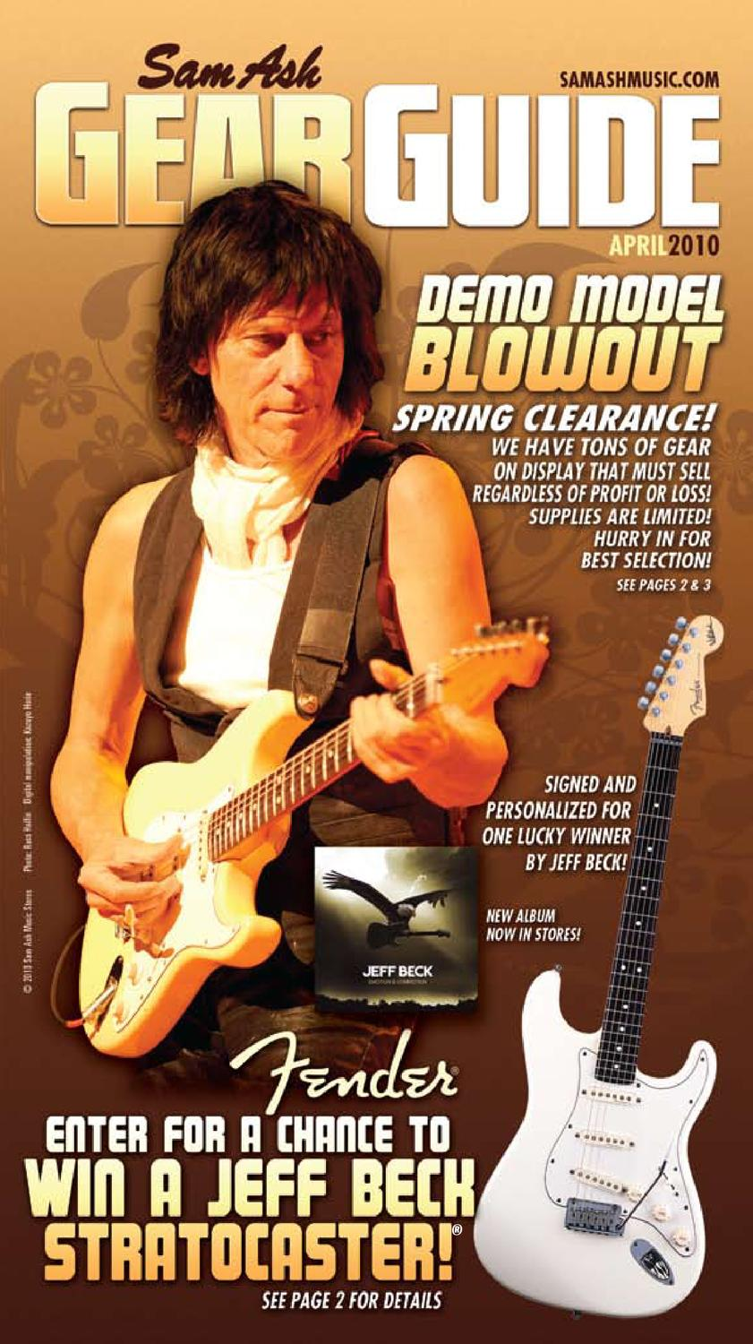 April 2010 Sam Ash Gear Guide By Music Corp Issuu Free Download S570b Wiring Diagram