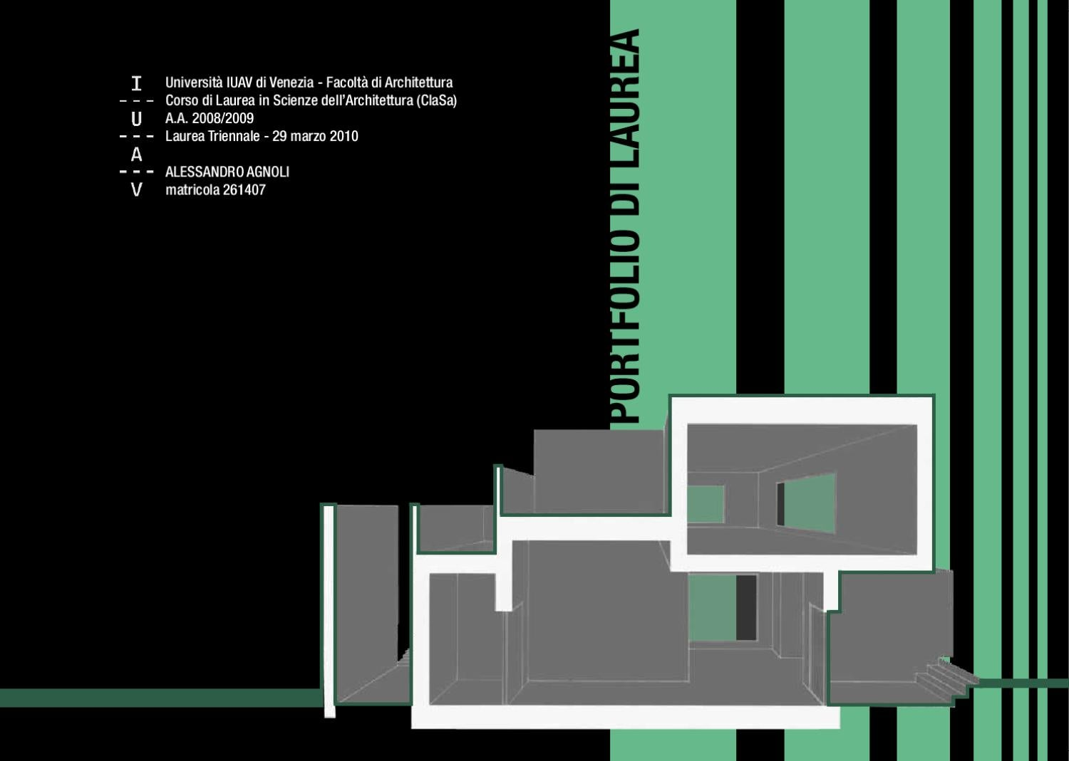 Eccezionale Gaetano De Francesco Architecture Portfolio IT by De Francesco  JS83