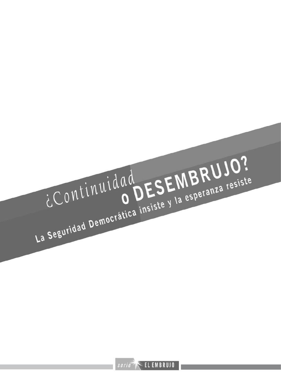 Continuidad o desembrujo? by Corporación de Investigación y Acción ...
