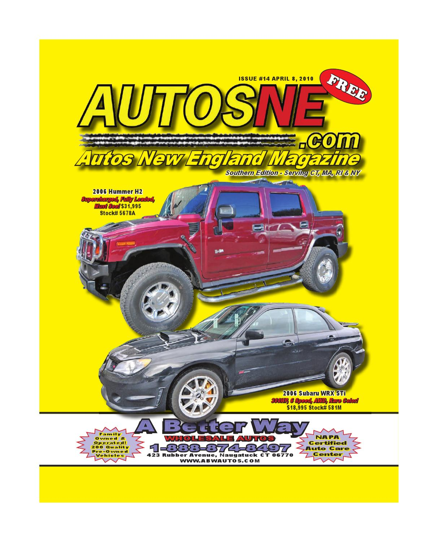 AutosNE Magazine 2010April8 By Autofunds .com