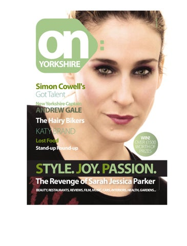 aa6b23be73a on yorkshire magazine issue 15 by On  Yorkshire Magazine - issuu