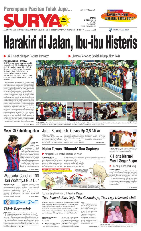 Surya Edisi Cetak 08 April 2010 By Harian Issuu Tcash Vaganza 39 Bantal Mobil 3 In 1 Mini Mouse Aksesoris