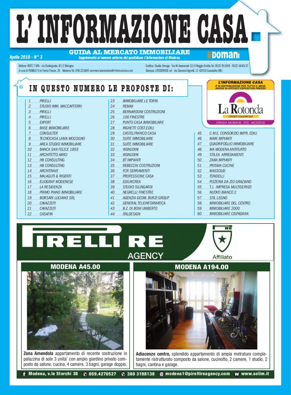 Informazione Casa Modena Aprile by FEDE DD - Issuu