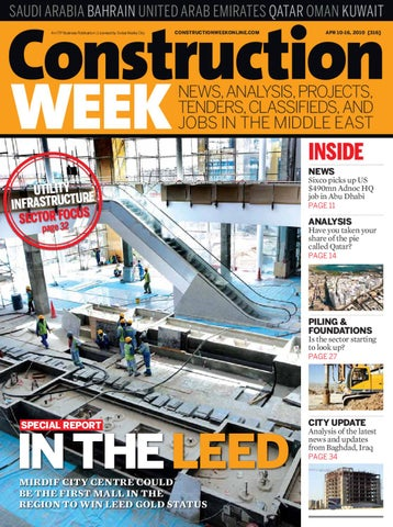 Construction Week - Issue 316 by ITP Business Publishing - issuu