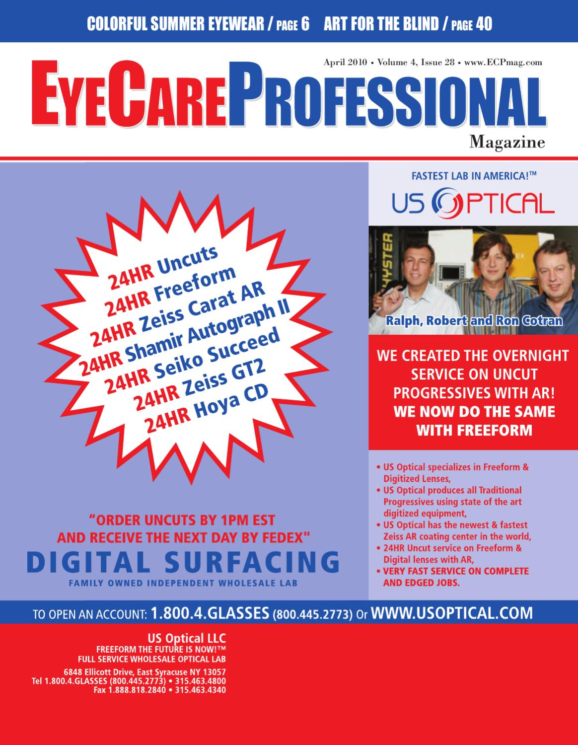 28ef6956597 EyeCare Professional Magazine April 2010 Issue by ECP Magazine - issuu