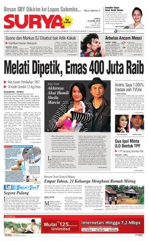a67c0ee747f Surya Edisi Cetak 10 April 2010 by Harian SURYA - issuu