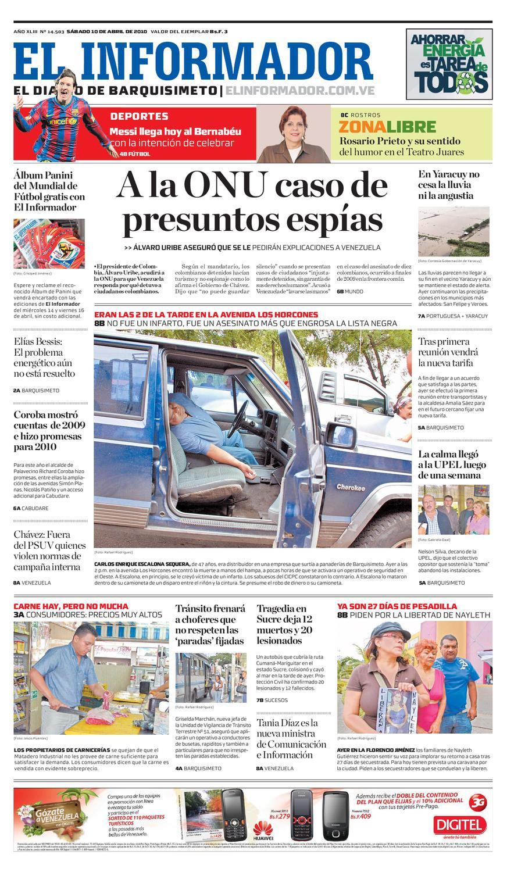 El Informador Impreso 2010 04 10 By El Informador Diario Online  # Hazan Muebles Gavilan