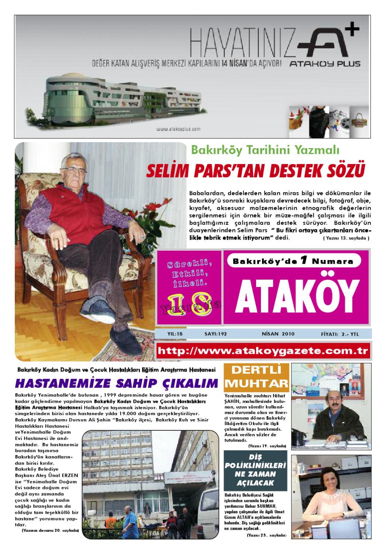 Atakoy Gazete Sayi 192 By Gokhan Atamer Issuu