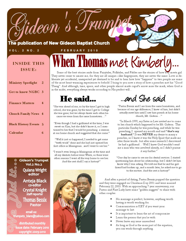 GideonTrumpet_Feb10 by New Gideon Baptist Church - issuu