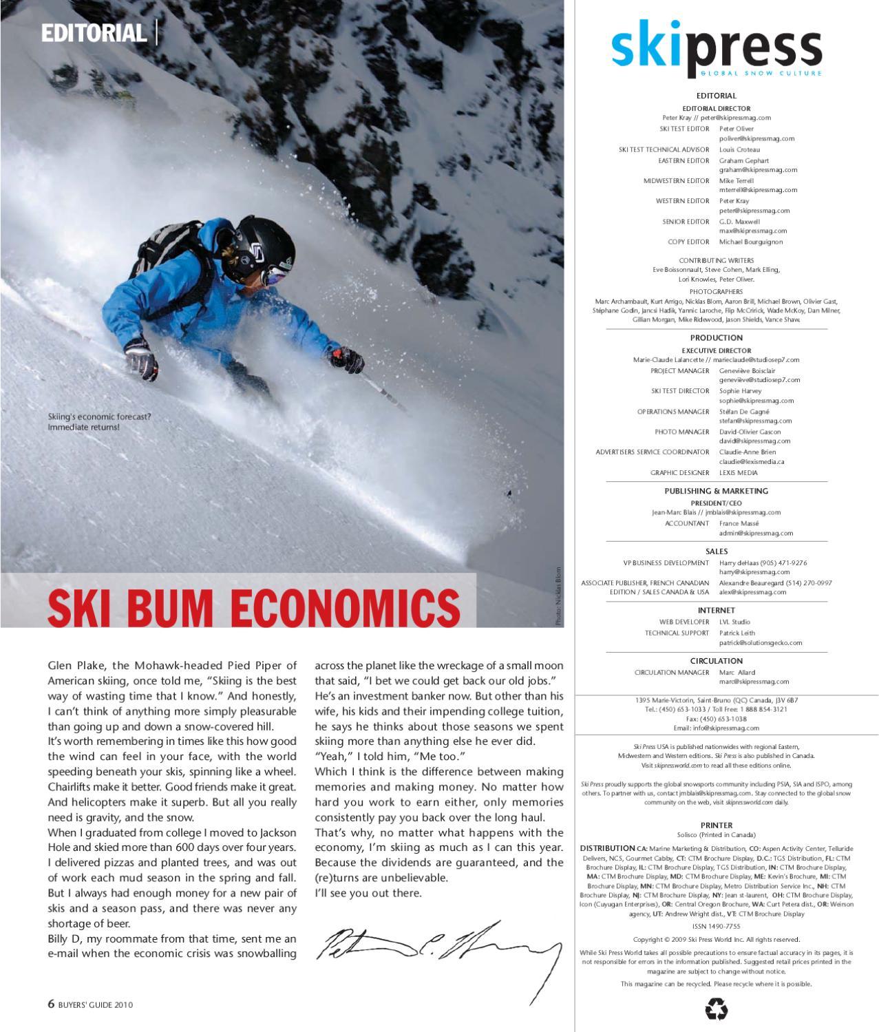 ski press usa vol 9 1 by skipressnews issuu rh issuu com Buyers Guide.pdf Central Wisconsin Buyer's Guide