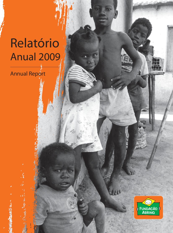 1377951183 Relatório de Atividades 2009 - Fundação Abrinq by Fundação Abrinq - issuu