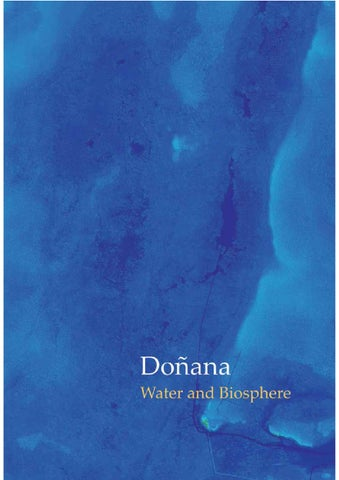 Donana: Water and Biosphere by Cipriano Marin - issuu on