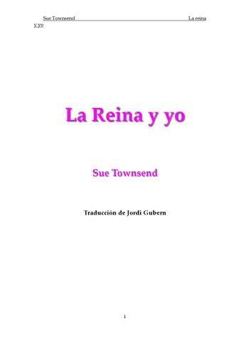 064b51373f659 La reina y yo by tecnolog16 yahoo - issuu