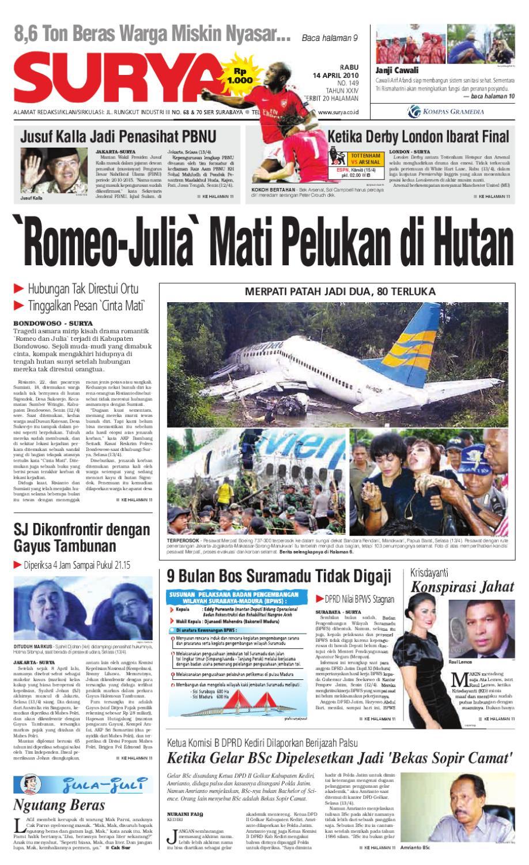 Surya Edisi Cetak 14 April 2010 By Harian Issuu Produk Ukm Bumn Tas Phiton Kembang Orchid
