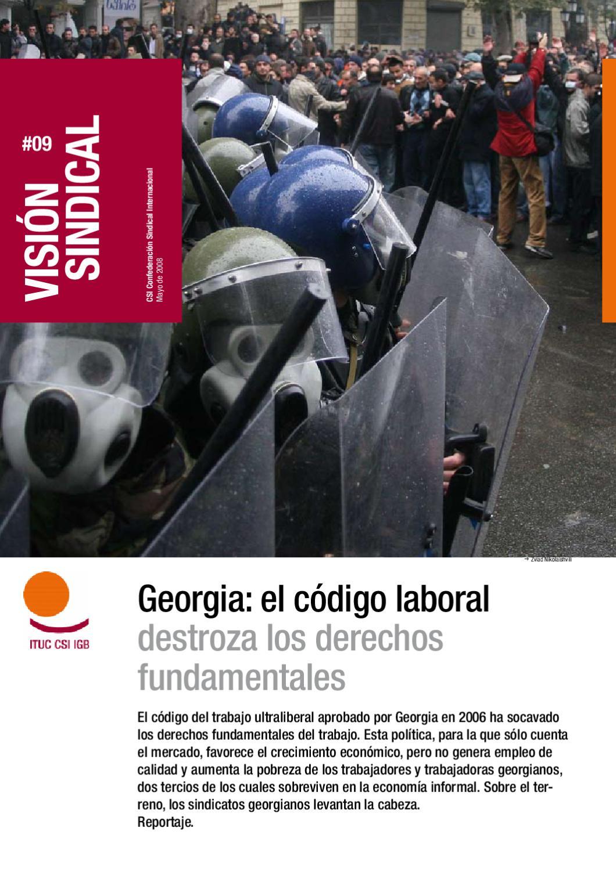 Georgia: el código laboral destroza los derechos fundamentales by ...