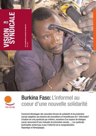 burkina faso l informel au coeur d une nouvelle solidarit by international trade union. Black Bedroom Furniture Sets. Home Design Ideas