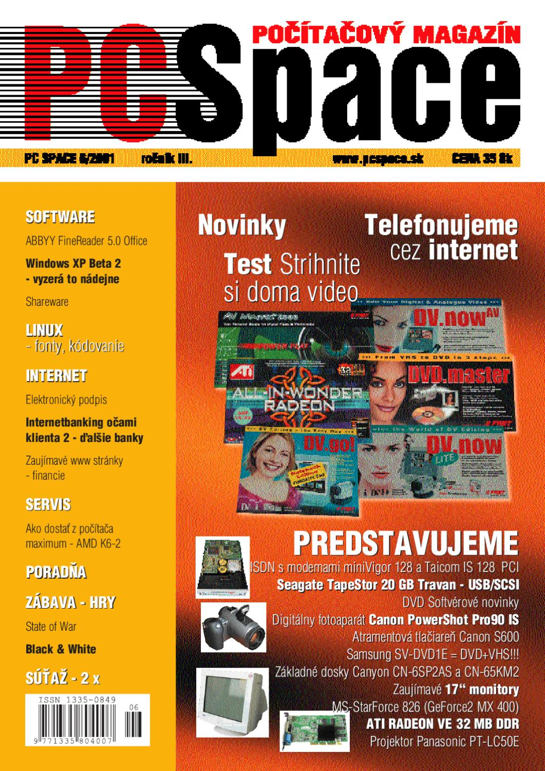 a5c96c23d 2001-06 by PC_Space s.r.o. - issuu